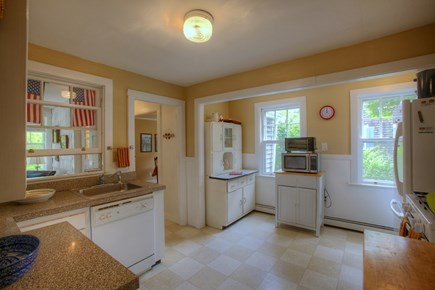 Hyannis Cape Cod vacation rental - Well-equipped kitchen for gourmet cooking. Adjacent washer/dryer.