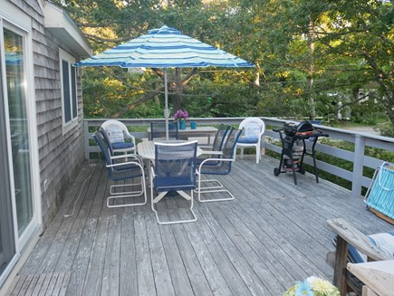 North Eastham - Bayside Cape Cod vacation rental - Deck for relaxing
