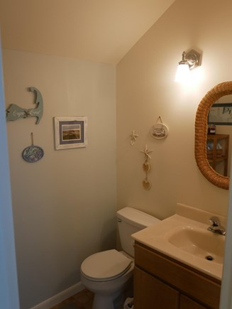 North Eastham - Bayside Cape Cod vacation rental - Half bath off the kitchen