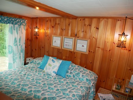 North Eastham - Bayside Cape Cod vacation rental - Master Bedroom with access to outdoor shower