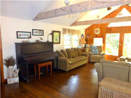 North Eastham - Bayside Cape Cod vacation rental - Add some music to your vacation with a piano
