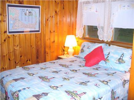North Eastham - Bayside Cape Cod vacation rental - Lighthouse Bedroom with Queen Bed
