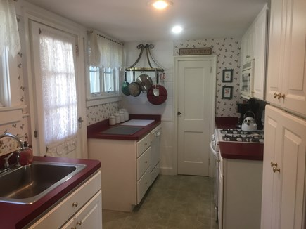 West Dennis Cape Cod vacation rental - Easy care kitchen
