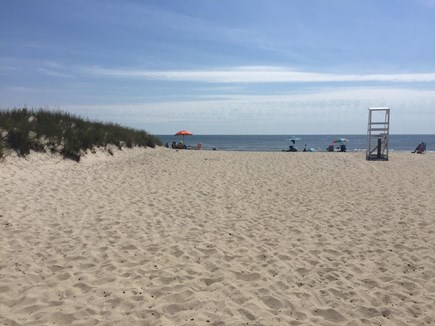 West Dennis Cape Cod vacation rental - Five minute walk down a quiet street to the South Village Beach