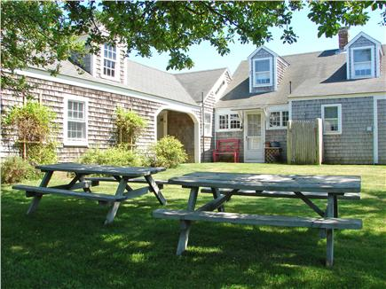 West Dennis Cape Cod vacation rental - Private yard with natural views
