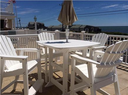 Dennis Port Cape Cod vacation rental - Sit on the deck and enjoy the view of our beach across the street