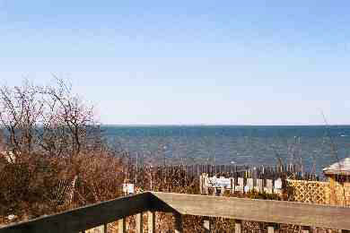 North Eastham Cape Cod vacation rental - Bay view from our deck