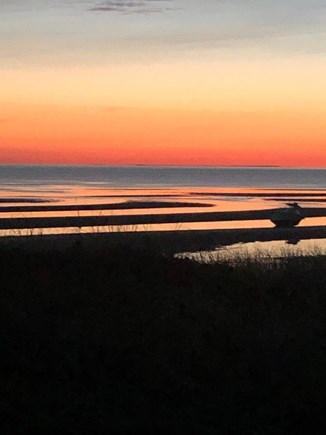 Eastham Cape Cod vacation rental - Cape cod bay sunset