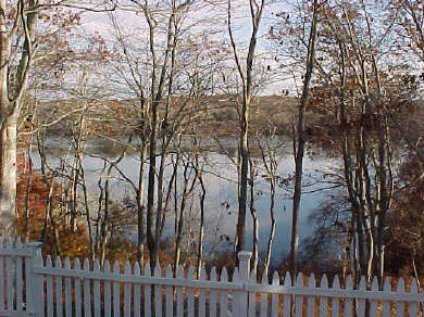 Falmouth Cape Cod vacation rental - Enjoy Views of Wing Pond - Private, Fenced In Yard