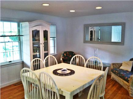 Falmouth Cape Cod vacation rental - Clean, Bright Dining Room with Lovely Views