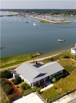 Wellfleet Harbor Cape Cod vacation rental - Enjoy Commanding Views of Bustling Wellfleet Harbor