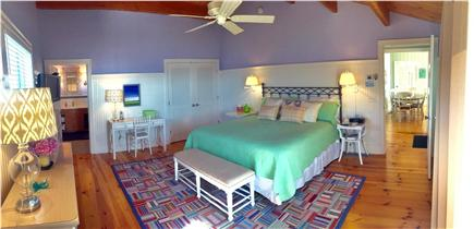 Wellfleet Harbor Cape Cod vacation rental - The Bright & Spacious Master Bedroom Includes Ensuite Bath