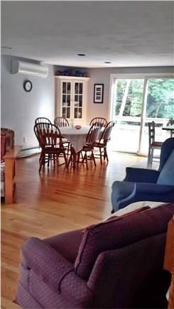 Dennis North Side Cape Cod vacation rental - Living Room/Dining Room