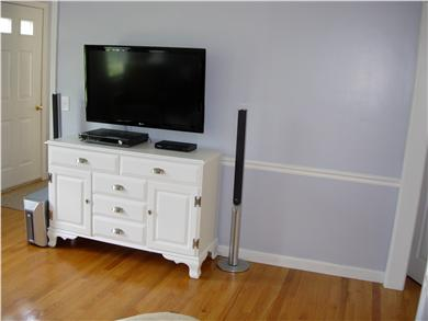 Dennis North Side Cape Cod vacation rental - TV Room Flatscreen