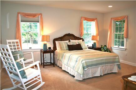 East Orleans Cape Cod vacation rental - Whale Master Bedroom Suite #2 - with Queen bed 26'x15'