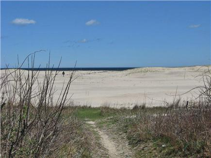 East Orleans Cape Cod vacation rental - Walk over the sand to the water