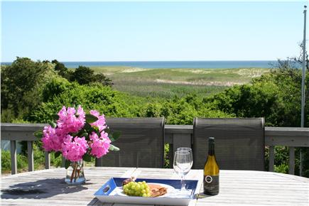 East Orleans Cape Cod vacation rental - Enjoy Nauset Beach from the Deck