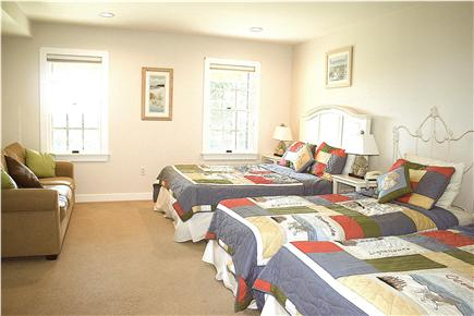 East Orleans Cape Cod vacation rental - Plover Room with Queen and two Twin Beds