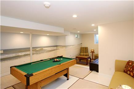 East Orleans Cape Cod vacation rental - Game Room - 22'x14'- Pool table and large TV.