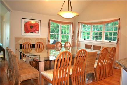 East Orleans Cape Cod vacation rental - Enjoy a meal at the table for 16