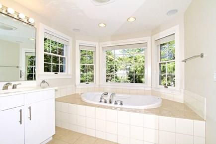 East Orleans Cape Cod vacation rental - En-suite Bath for Master Suite #1 with Jacuzzi