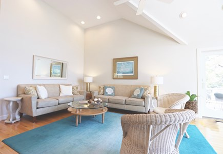 East Orleans Cape Cod vacation rental - Living Room(22'x14')-Partial View of room