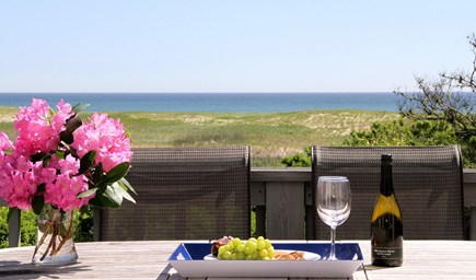 East Orleans Cape Cod vacation rental - Listen to waves of the Atlantic Ocean on Nauset Beach