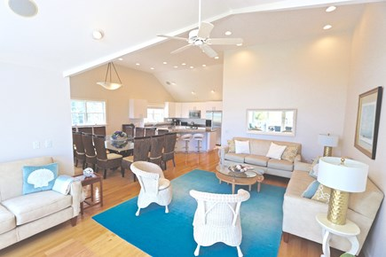 East Orleans Cape Cod vacation rental - Open floor architecture ideal for large re-union or celebrations.