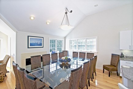 East Orleans Cape Cod vacation rental - Dine at the table for 16