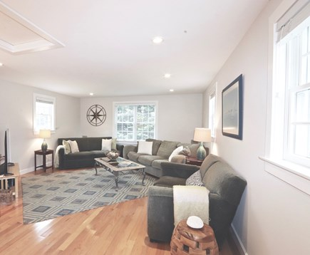 East Orleans Cape Cod vacation rental - Family Room - 18'x15' with  large flat screen TV