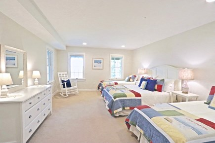 East Orleans Cape Cod vacation rental - Queen bedroom with 2 twin beds