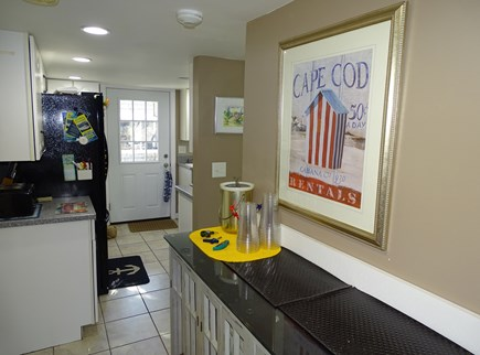Falmouth Cape Cod vacation rental - Entry from dining room to kitchen