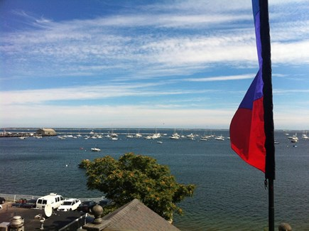 Provincetown Cape Cod vacation rental - Private rooftop deck with beautiful water view!