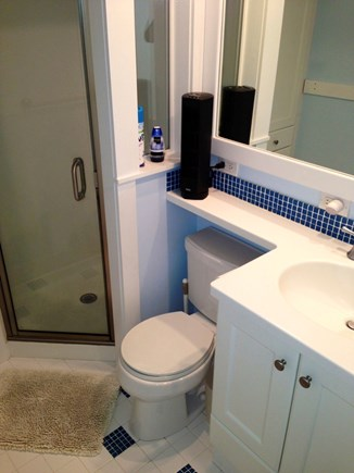 Provincetown Cape Cod vacation rental - Recently updated bathroom with walk in shower.