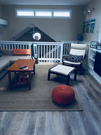 Provincetown Cape Cod vacation rental - Living room with lots of natural light