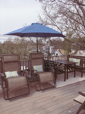 Provincetown Cape Cod vacation rental - Private rooftop deck.