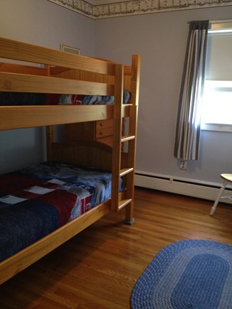 Harwich Port Cape Cod vacation rental - Bedroom with bunk beds- kids love it!