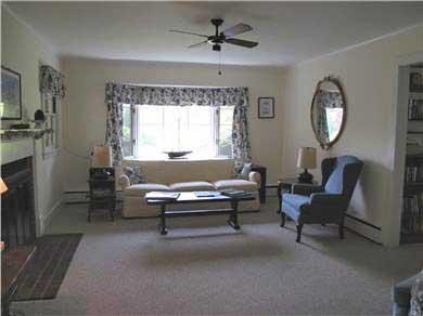 Harwich Port Cape Cod vacation rental - Living Room -spacious with plenty of  comfortable seating