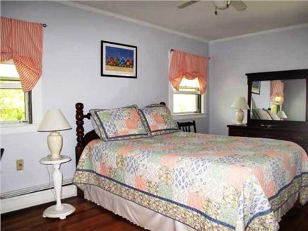Harwich Port Cape Cod vacation rental - Master bedroom #1 with queen bed, half bath, flat screen TV