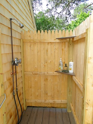 Wellfleet Cape Cod vacation rental - Newly constructed outdoor shower