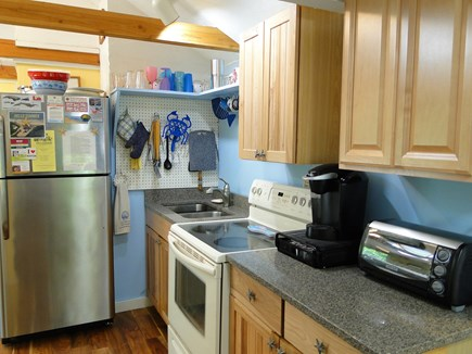 Wellfleet Cape Cod vacation rental - Kitchen with new appliances, cabinets