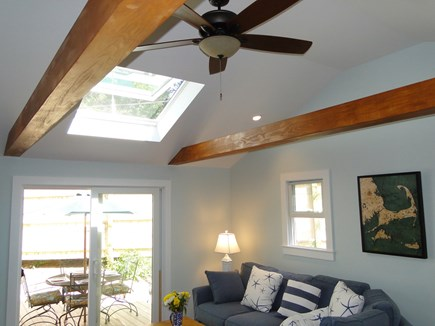Wellfleet Cape Cod vacation rental - Brand new addition – vaulted living room
