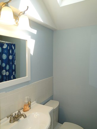 Wellfleet Cape Cod vacation rental - Bathroom with skylight and shower