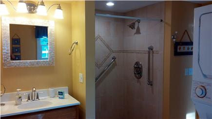 New Seabury/Popponesset New Seabury vacation rental - 2nd of 3 bathrooms--xtra large tiled shower with Maytag W/D