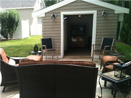 New Seabury/Popponesset New Seabury vacation rental - Watch TV/listen to music from Patio House facing new patio