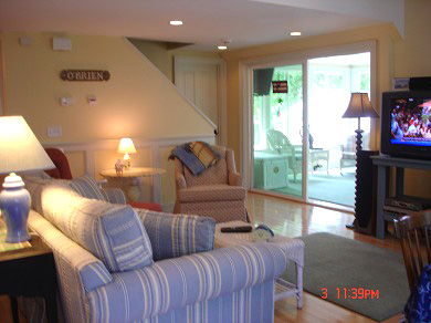 New Seabury/Popponesset New Seabury vacation rental - Relax watching HDTV, DVD, VCR in surround sound
