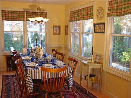 New Seabury/Popponesset New Seabury vacation rental - Dine at extended dining table to accommodate 8-10 guests