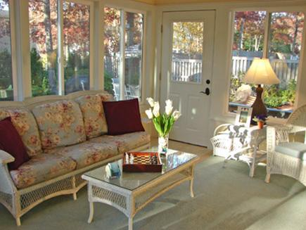 New Seabury/Popponesset New Seabury vacation rental - 12 x 16 Sun Porch with cable TV and steps away from patio
