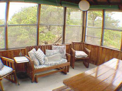Eastham Cape Cod vacation rental - Sun Room/Porch - completely screened