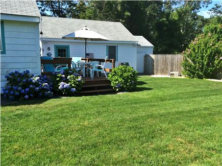 West Harwich Cape Cod vacation rental - Cottage and Large Side Yard for Play